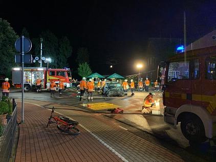Einsatz_10_VU_Lavelsloh_001©Freiwillige Feuerwehr Essern