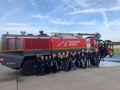 Gruppenbild_FLF_von_hinten©Freiwillige Feuerwehr Essern