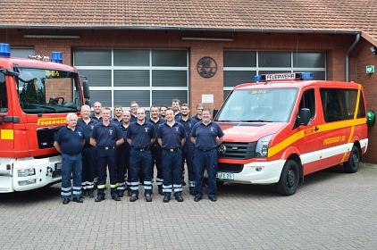Kommando Gruppenbild©Freiwillige Feuerwehr Essern