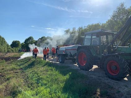 Moorbrand Essern©Freiwillige Feuerwehr Essern